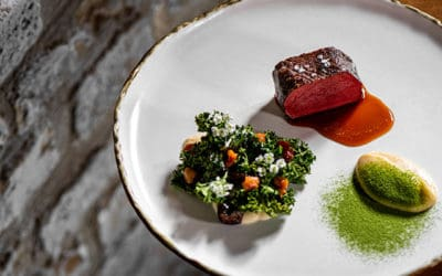 Fine dining dinner experience for hospitality students