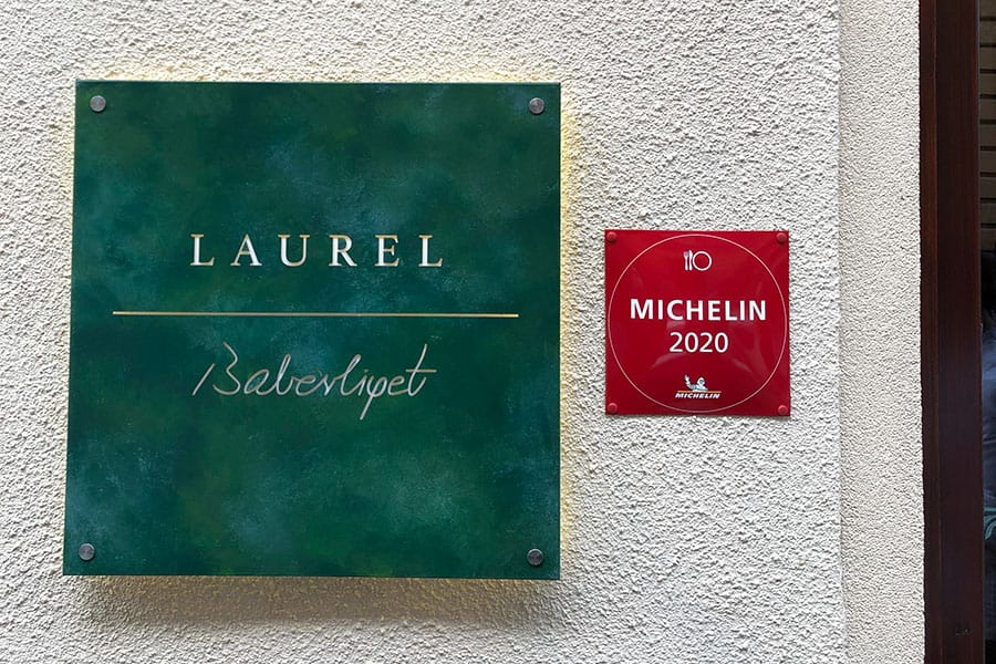 Laurel Budapest is Michelin recommended